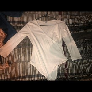 Long sleeve shirt body suit worn once